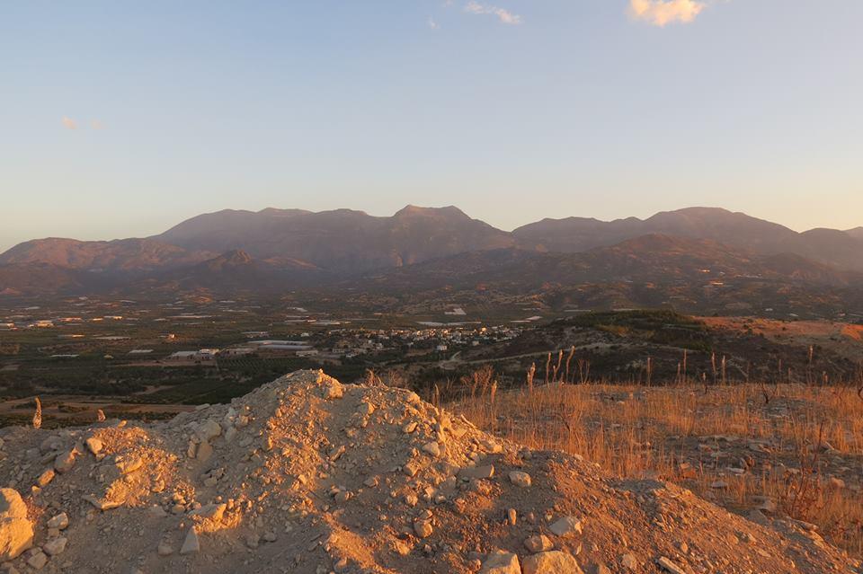 La catena degli Psiloritis e il Monte Ida